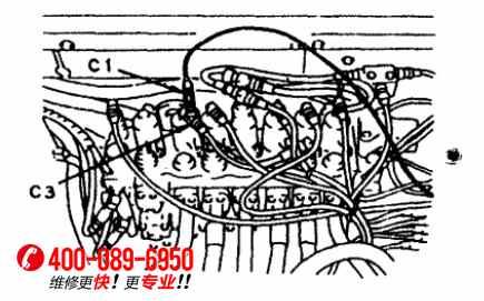 大宇220-5挖机电路图